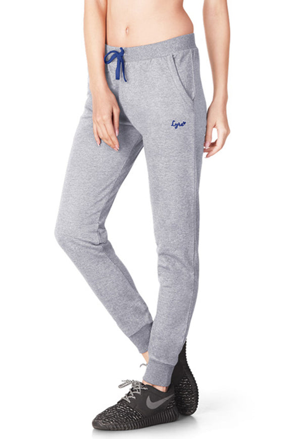 Dhanari Grey Melange  Jogger For Women's (TPA-315)A4