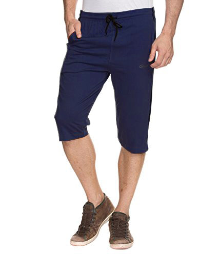 Genx Men's Capri (CAPRI_601_Navy Blue)