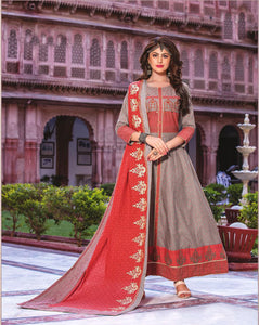 Dhanari Party Wear Kurti With Dupatta  (KU-251) B00000003