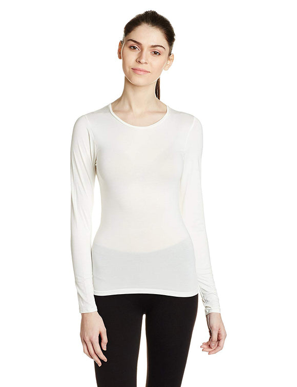 Macrowomen Off White Color Thermal (THR-MW3561)
