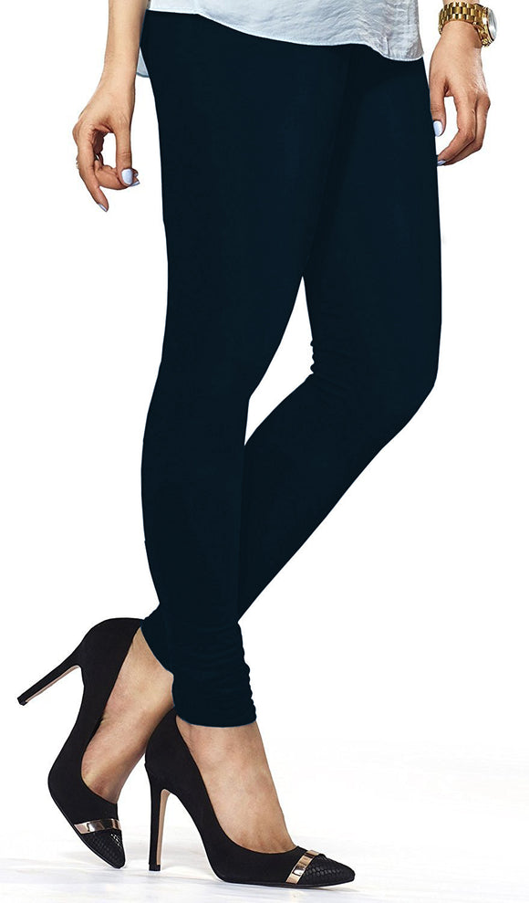 Lux Lyra Deep Navy Indian Churidar Leggings (LG-100)