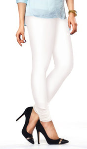 Lux Lyra White Color Indian Churidar Leggings(LG-10)