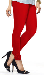 Lux Lyra Red Color Indian Churidar Leggings(LG-12)