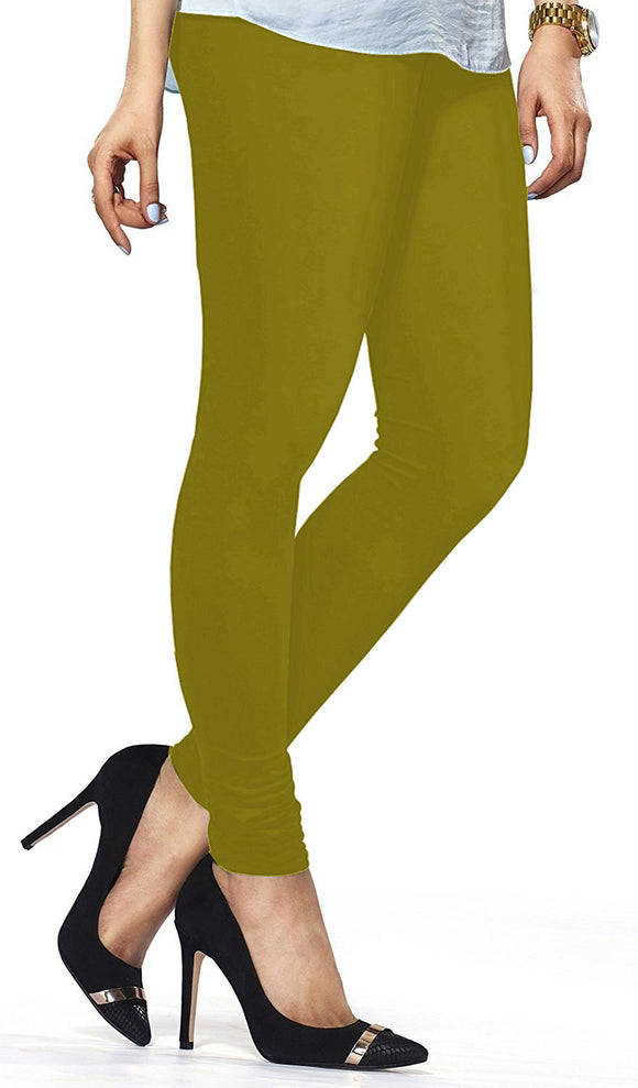 Lux Lyra Chatni Green Indian Churidar Leggings(LG-39)