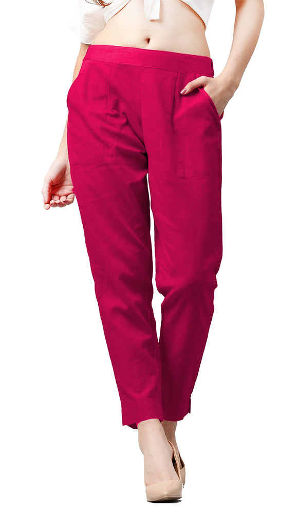 Lux Lyra Red Color Pencil Pants (PA-1) A7