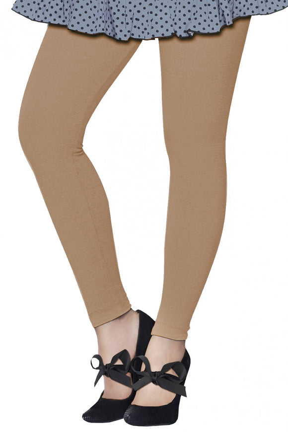 Lux Lyra Fawn Color Ankle Length Legging (LG-41)