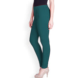 Lux Lyra MZ Green Color Women's Leggings(LG-7)