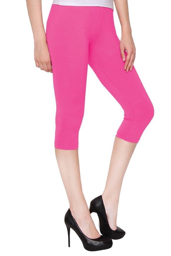 Lux Lyra Romentic Rani Color Capri Leggings (CAPRI-14)
