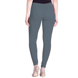 Lux Lyra Steel Grey Color Indian Churidar Leggings(LG-37)