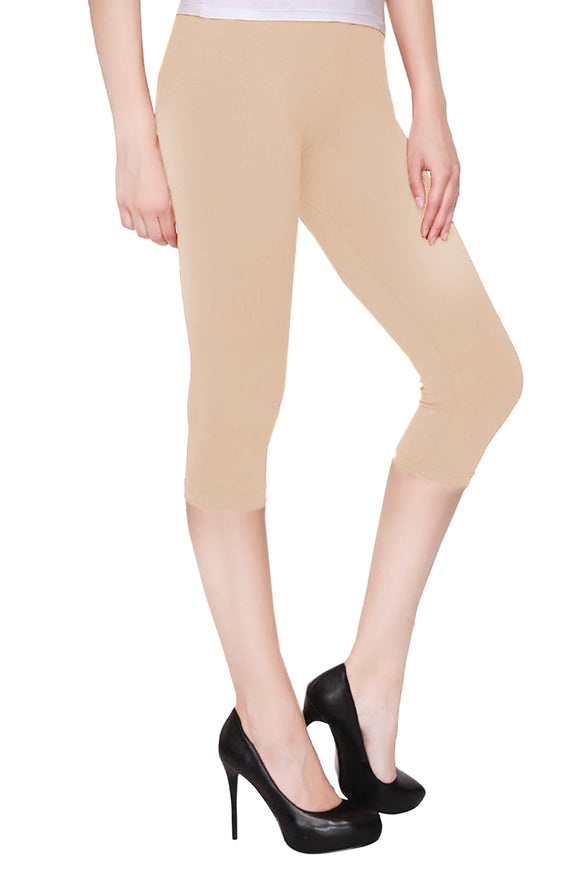 Lux Lyra Skin Color Pretty Capri Leggings (CAPRI-40)