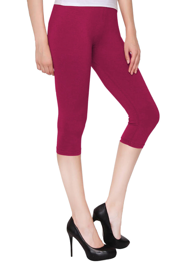 Dollar Missy Dark Rani Capri Leggings (LG-43)