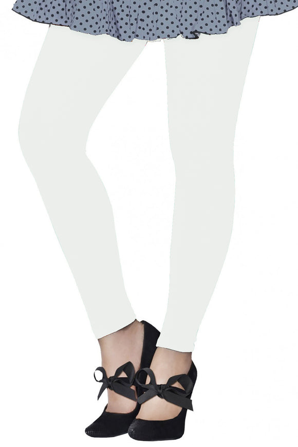 9d30852106054 Lux Lyra Ankle Length Off White Color Legging (LG-09) – Simply ...