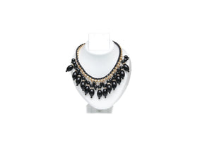 Dhanari Black Grapes Shape Hanging Necklace for Women's And Girls (JW-12) K1