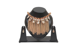 Dhanari Golden Color Necklace For Women's (JW-17) P4
