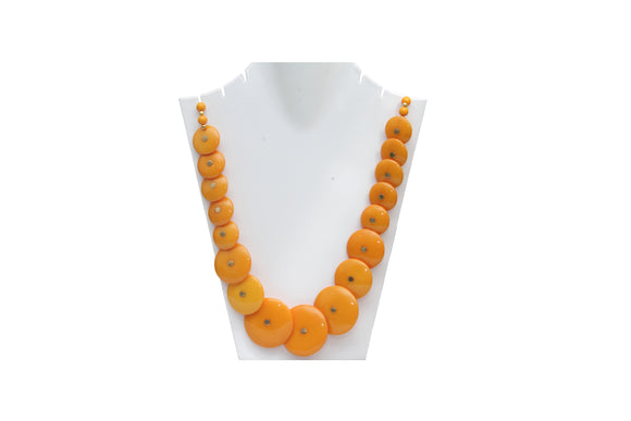 Dhanari Yellow Color Neckace For Women's (JW-39) L02