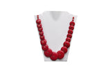 Dhanari Red Color Necklace For Women's (JW-39) L01
