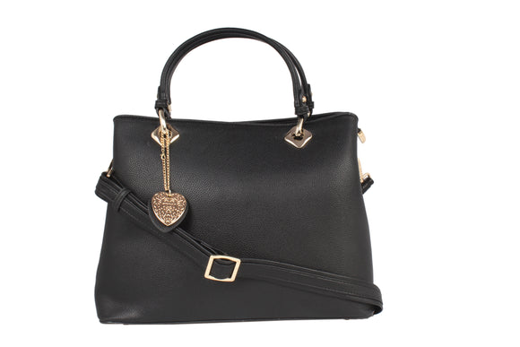 Dhanari Black Color Stylish Handbag For Women's (BG-73) U001