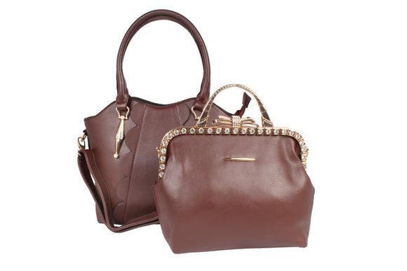 Dhanari Designer Combo Handbag For Women (BG-86)H0001