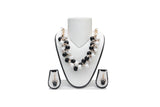 Dhanari Black And White Color Beads Women's Jewellery (JW-46)S06