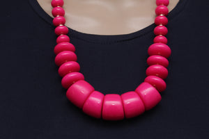 Dhanari Pink Color Beads Attractive Women's Jewellery (JW-67)N004