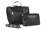 Dhanari Black Casual Combo HandBag For Women (BG-110) F00001
