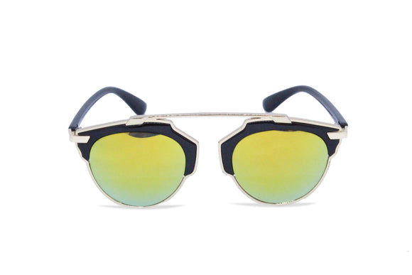 Dhanari Yellow Shades Goggle For Women's (SG-20) T28
