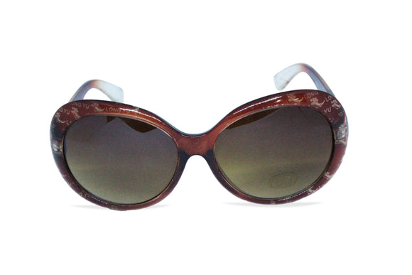 Dhanari Stylish Brown Goggle For Women's (sg-27)A014