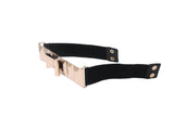 Dhanari Women's Metal Color Buckle Belt (BL-1)A6