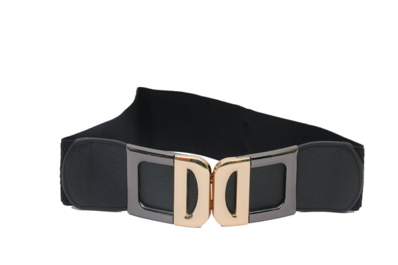 Dhanari Black Color Women's Belt (BL-2) B14