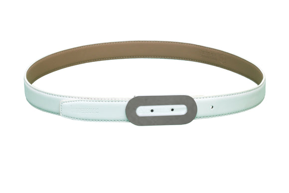 Dhanari White Color For New Style Women's Belt (BL-5) E3