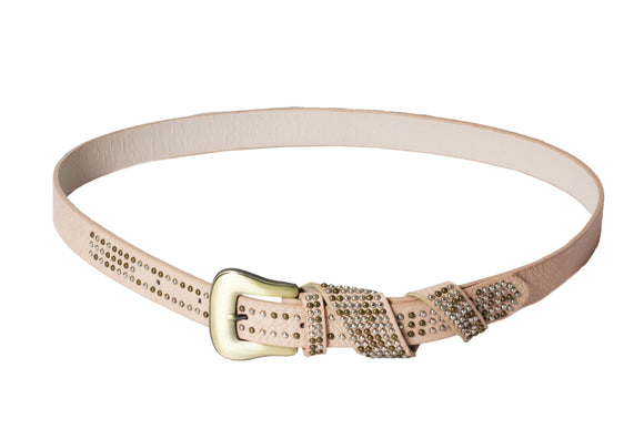 Dhanari Women's Peach Color Belt (BL-7)G14