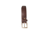 Dhanari Women's Dark Brown Color Belt (BL-8)H4