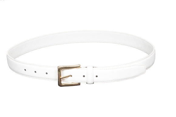 Dhanari Women's White Color Casual Wear Belt (BL-8)H14
