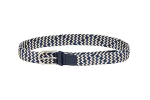 Dhanari Women's Cream And Blue Color Belt (BL-9)I6