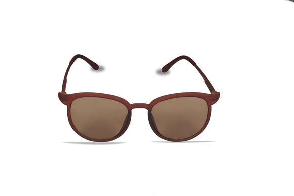 Dhanari Brown Color Cat- Eye Goggles For Women's  (SG-3) C4