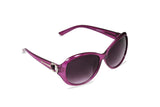 Dhanari Purple Color Mirror Women's Sunglasses(SG-4) D1