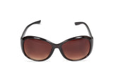 Dhanari Black Color Women's Sunglasses With Brown Mirror (SG-4) D4