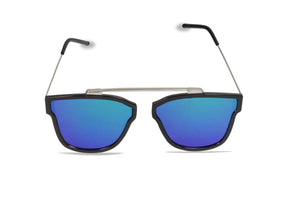 Dhanari Women's Blue UV Protected Sunglasses (SG-6) F8