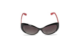 Dhanari Women's Red Color Wrap Around Sunglasses (SG-7) G4
