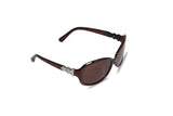 Dhanari Women's Maroon Frame With Brown Shade Goggle (SG-8) H58