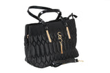 Dhanari Women's Black Casual Wear Zipper Closure Handbag (BG-31) E08