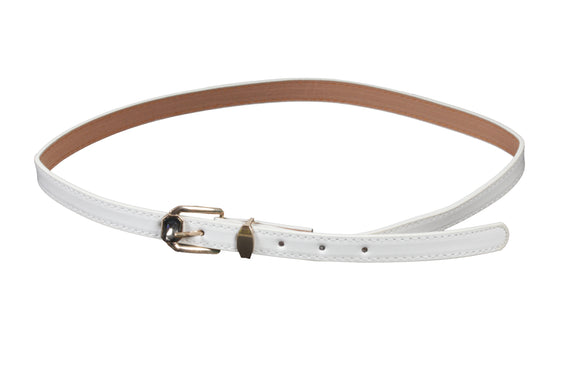 Dhanari Women's White Color Belt (BL-10) J13