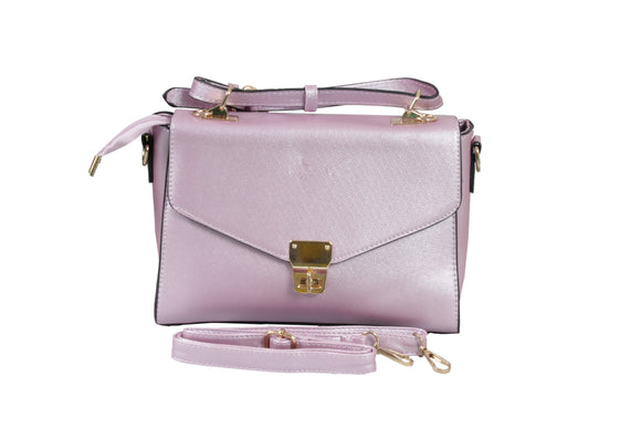 Dhanari Pink Color With Removable Belt Handbags For Women's (BG-45) S02