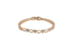 Dhanari Women's Heart Shaped Gold-Plated Bracelet (JW-90)K00011