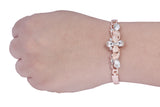 Dhanari Women's Diamonds & Stone-Toned Bracelet (JW-90) K00018
