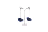 Dhanari Women's Royal Blue Funky With Chain Earrings(JW-99)T0004