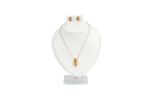 Dhanari Women's Golden Color Ring Pendant Necklace (JW-103)X0001