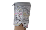 Dhanari Women's Grey Printed Regular Fit Regular Shorts (NS-10) J1