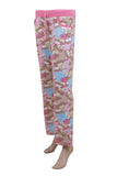Dhanari Women's Teddy Bear Pink Printed Lower (NS-9) I2