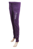 Dhanari Women's Dolphin Purple Lower With Elasticized Waistband (NS-12) L8